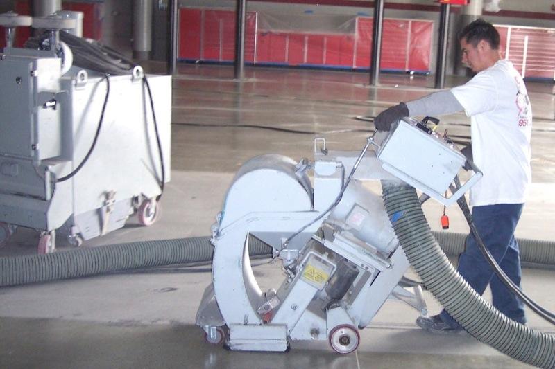 warehouse/shot blasting/surface preperation - Concrete Preparation Systems, West