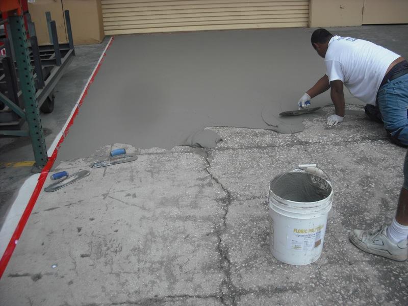 loading dock/Concrete Repairs - Concrete Preparation Systems, West